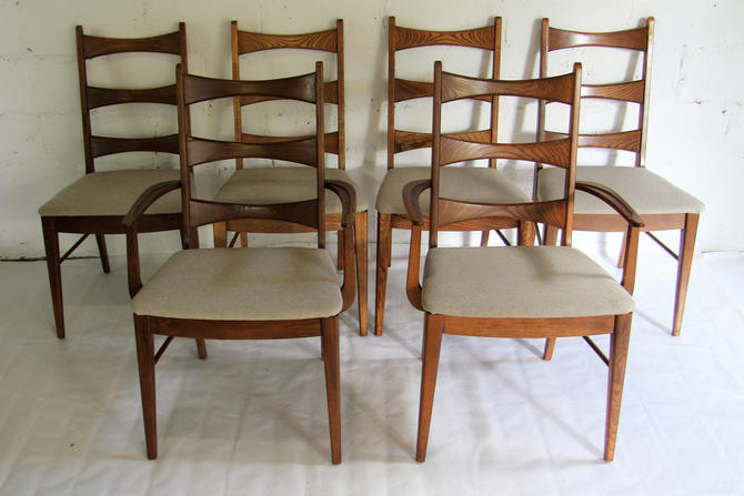 Mid Century Modern Dining Chairs By Stanley Furniture Company S 6 By Wrightfindsinmcm