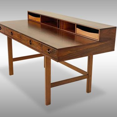 Brazilian Rosewood Lovig Partners Desk, Circa 1970 - *Please ask for a shipping quote before you buy. by CoolCatVintagePA