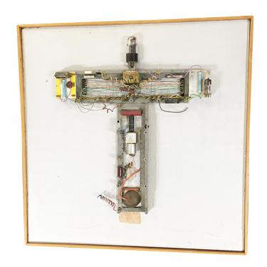 """Abstract """"Stations of The Cross"""" Untitled 3 Vacuum Tube Wall Sculpture by Pasqual Bettio by HarveysonBeverly"""