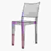 Petite Purple Acrylic Chair