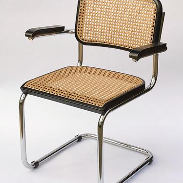 Vintage 1977 Marcel Breuer Cesca Chair by Walkingtan