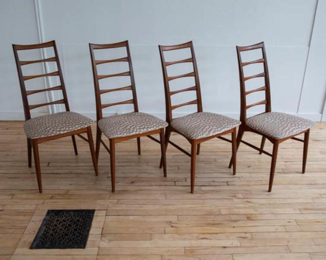 Koefoeds-Hornslet Teak Lis Chairs