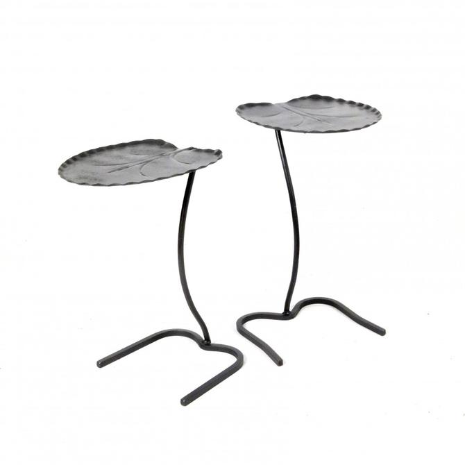 Set of Salterini Patio Drink Tables