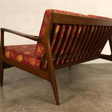 Ib Kofod Larsen For Selig Mid-Century Modern Sofa / Settee ~ A Pair by modernmidcenturyfurn