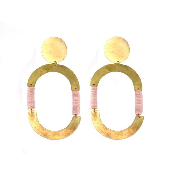 Neptune Earrings - Pink