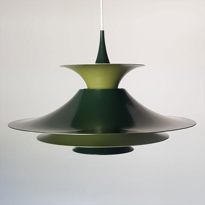 Danish Mid-Century Modern Radius 1 pendant lamp by Erik Balslev for Fog & Mørup by MCMSanFrancisco
