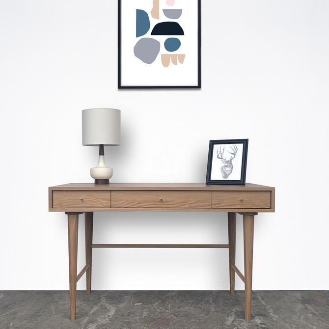"""Bloom Desk 51"""" - White Oak by STORnewyork"""