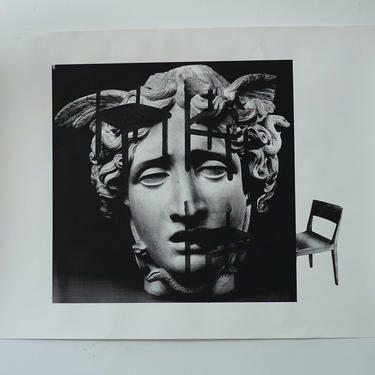 Medusa (Chair Version) on Heavy Paper signed