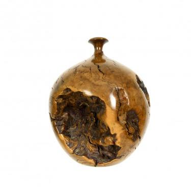 Hap Sakwa Turned Burl Vase