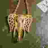 Trunks Down Celebrity Elephant Statement Necklace