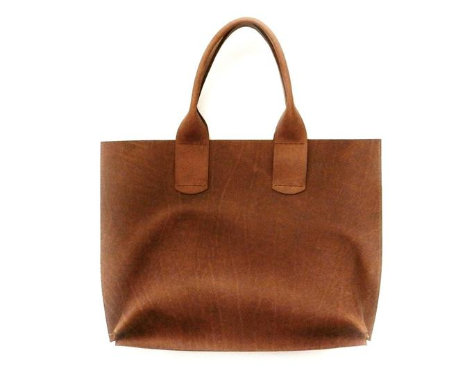 DAAS TOTE - SADDLE BROWN