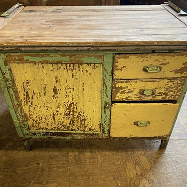 """Cute Chippy Paint Cabinet 41.5""""x24""""x32""""Tall"""