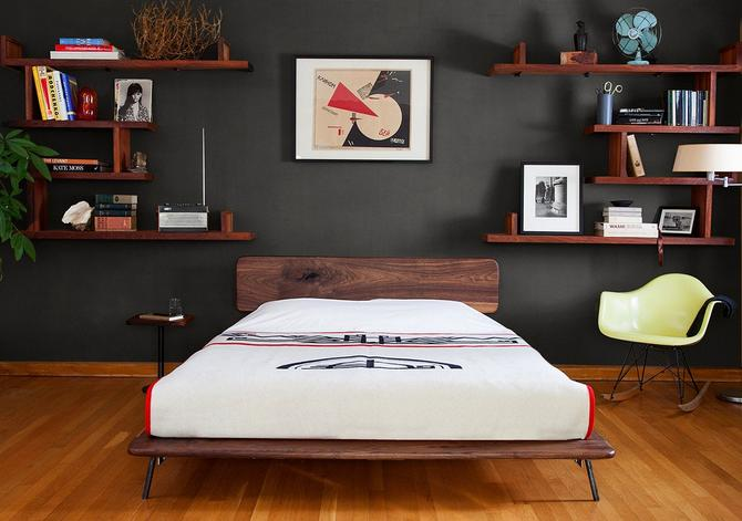 Kanso Bed by deliafurniture