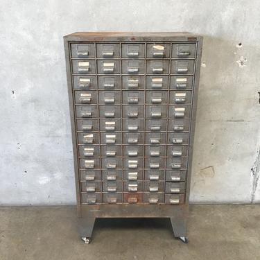 Elliot Multi Drawer Industrial Rolling Cabinet