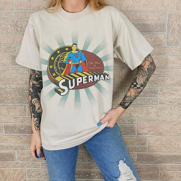 1996 Vintage Superman DC Comics T-Shirt by NoteworthyGarments
