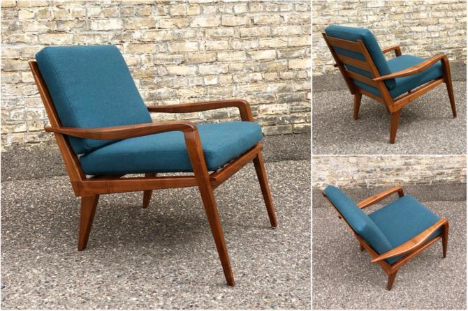 Made In Minnesota: Walnut Easy Chair #2