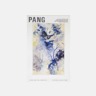 Tseng-ying Pang Exhibition Poster by GoldmineUnlimited