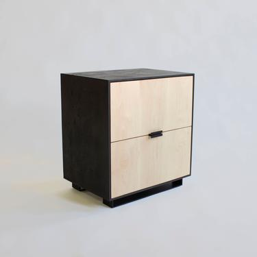 Hanks Modern Concrete Nightstand and Cabinet by CrumpandKwash