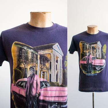 Vintage Graceland Tshirt / Vintage Elvis Tshirt / Vintage Memphis Tennessee Tshirt / Vintage Graceland TN Tee / Elvis Presley Tshirt by milkandice