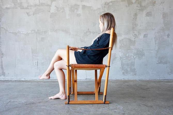 Mogens Koch 'MK-16' Leather Chair by FandFVintage