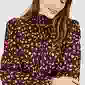 Stella Top | Posh Cheetah