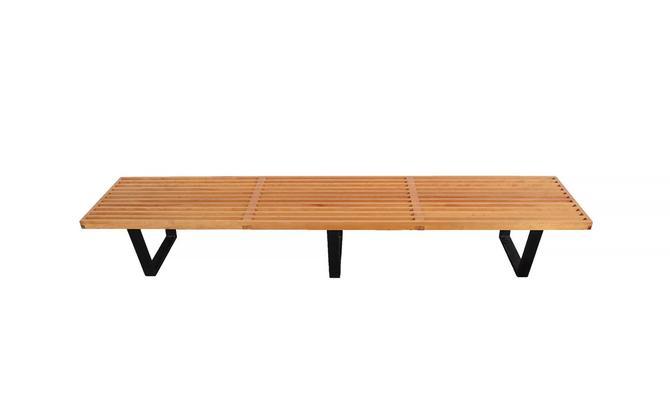 Magnificent Platform Bench Slat Bench George Nelson Herman Miller Mid Theyellowbook Wood Chair Design Ideas Theyellowbookinfo