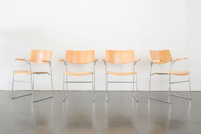 ICF Italy Stacking Chairs