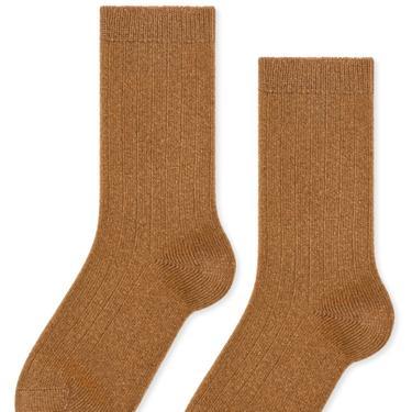 Italia Cashmere Cozy Rib Crew Sock (multiple colors)