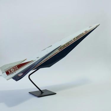 Vintage Huge (3 ft) NASA X-30 Contractor Model