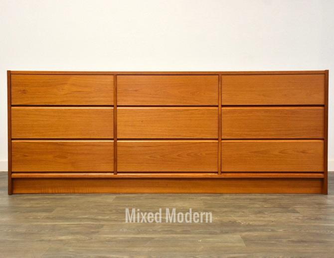 Teak Mid Century Dresser by mixedmodern1