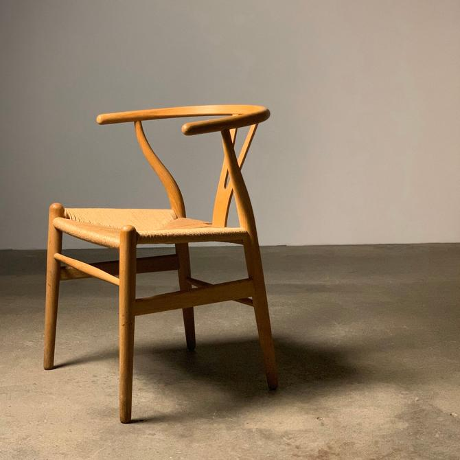 Hans Wegner Wishbone Chair by Carl Hansen and Sons by midcenTree
