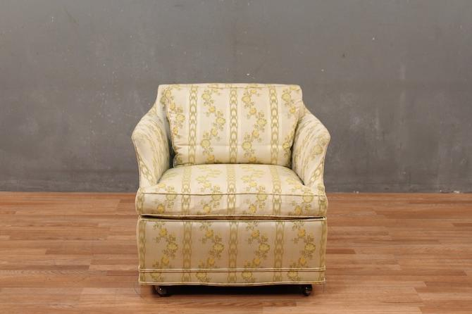 John Stuart Mid Century Buttercup Club Chair – ONLINE ONLY