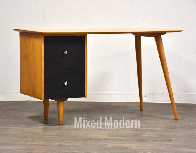 Planner Group Solid Maple Desk by Paul McCobb by mixedmodern1