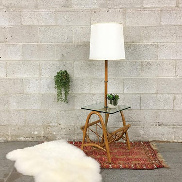 LOCAL PICKUP ONLY ------------ Vintage End Table Lamp by RetrospectVintage215