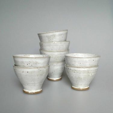 Brown Stoneware Tulip Cup