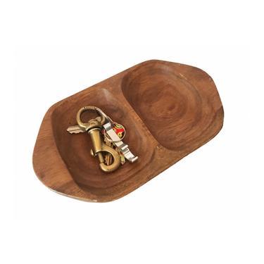 Wooden Key Dish