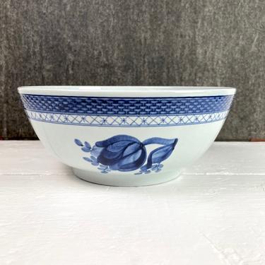 Royal Copenhagen Aluminia Tranquebar #11 serving bowl - beehive mark - 1959 by NextStageVintage