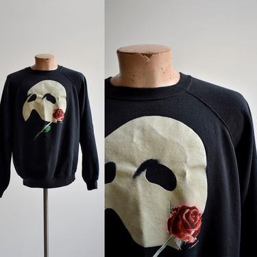 1980s Phantom of the Opera Raglan Sweatshirt by milkandice