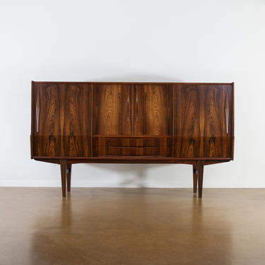 Vintage Danish Rosewood Credenza. 1960s. Mid Century Modern. MCM. Free Shipping by maleforsphx