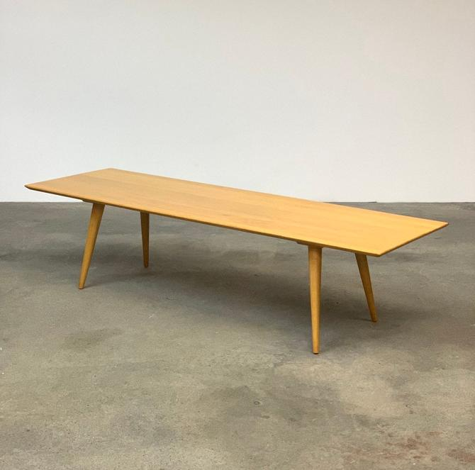 Paul McCobb Planner Group Coffee Table + Bench by midcenTree
