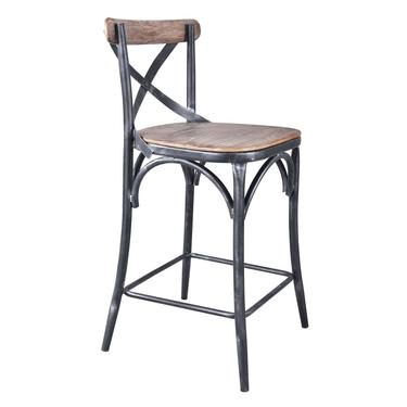 Home Chic Carew Industrial Counter Stool