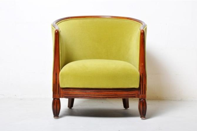 VIntage Chair with Round Back