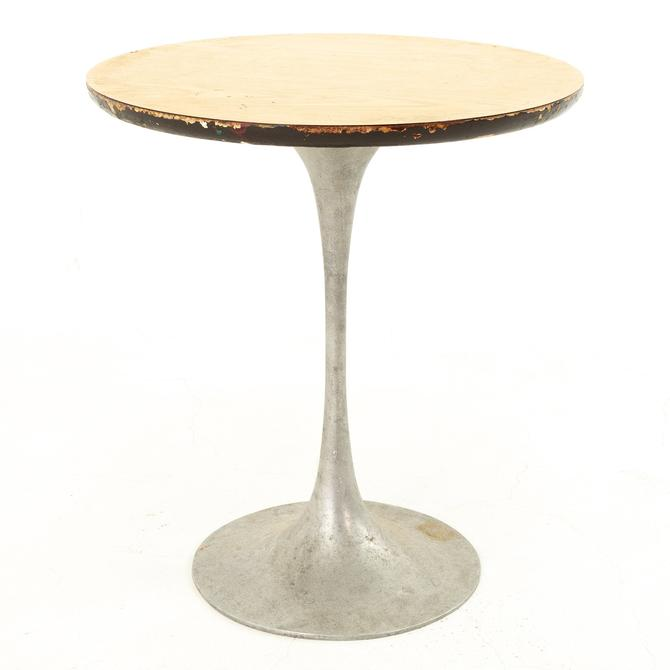 Eero Saarinen Style Mid Century Tulip Base Side End Table - mcm by ModernHill