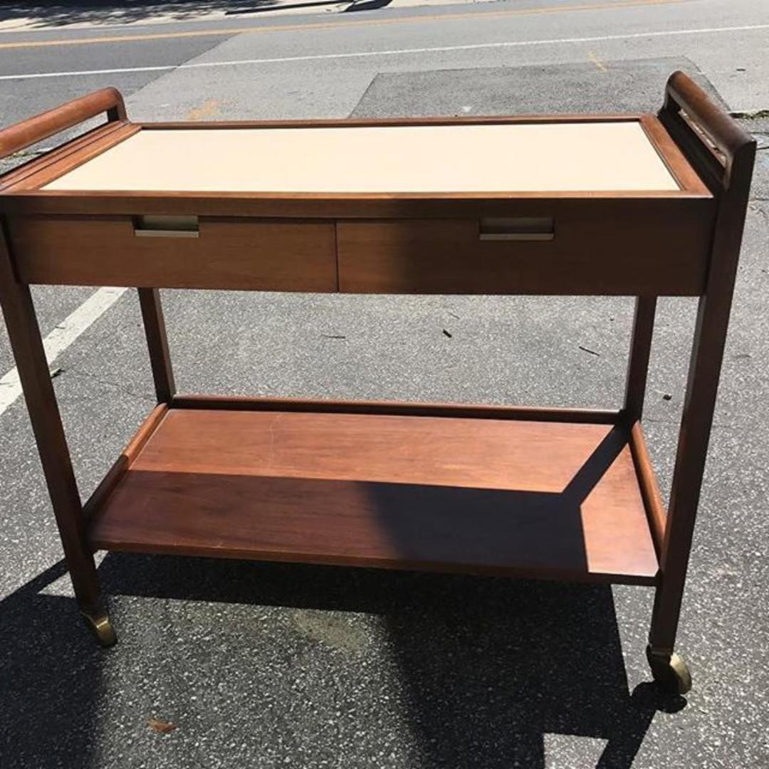 Mid Century Modern Bar Cart, By American Of Martinsville