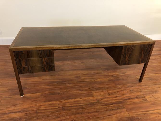 Stow Davis Large Rosewood & Burl Desk