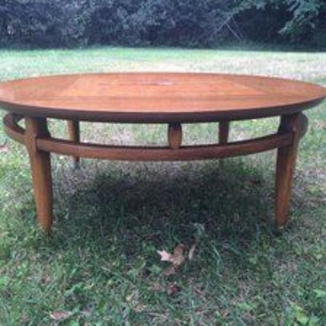 Lane Mid Century Round Coffee Table, c. 1960s -- $195