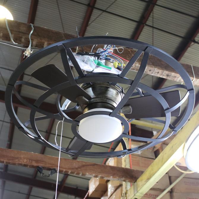 Alsace Fan D'Lier Ceiling Fan with Light by Savoy House 26-9536-FD-196