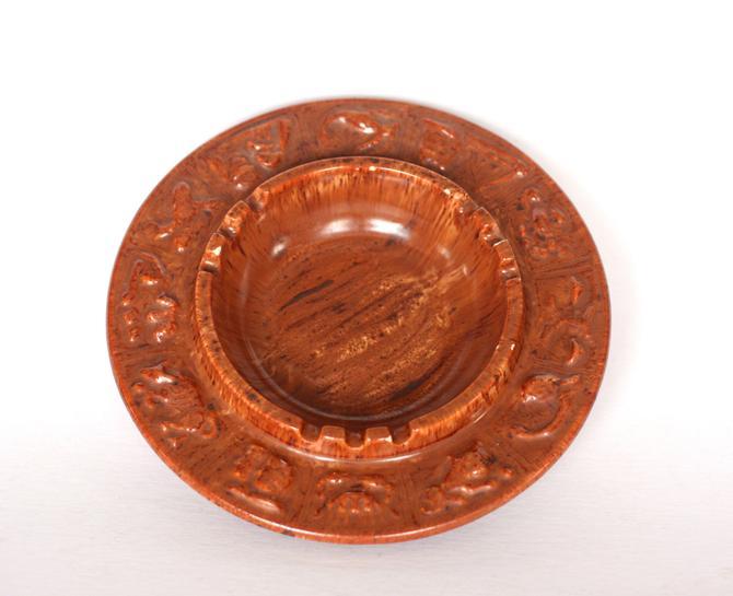 vintage ceramic astrology ashtray by suesuegonzalas