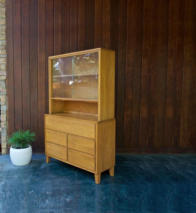 Conant Ball Buffet Sideboard Vintage Mid-Century Russel Wright Modern Mates Leslie Diamond by BrainWashington