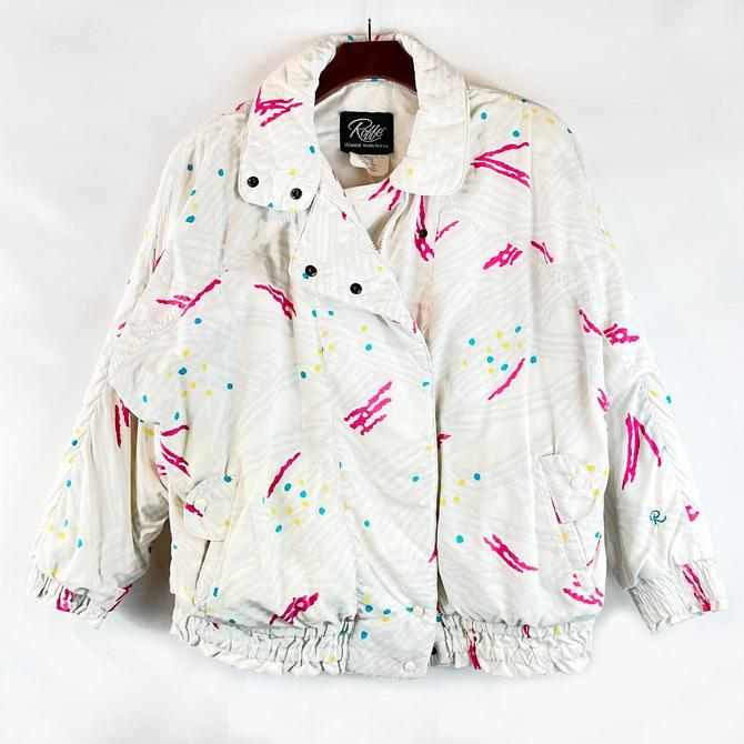 90's Print Insulated Jacket